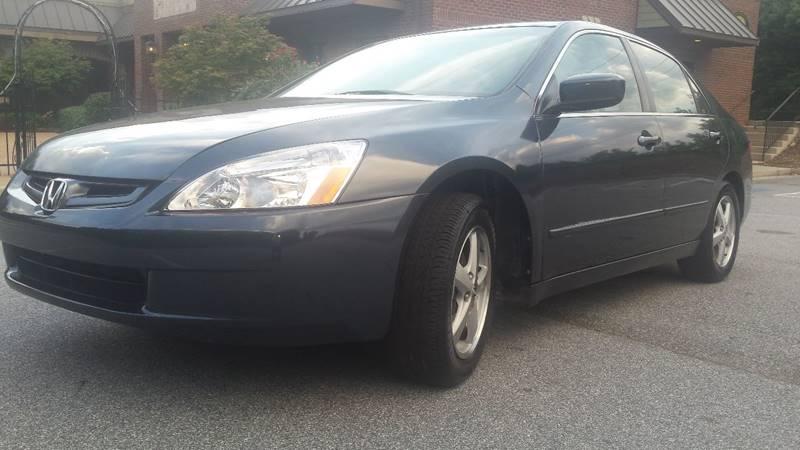 2004 Honda Accord for sale at PENDERGRASS PUBLIC AUTO AUCTION in Pendergrass GA