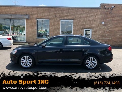 2013 Volkswagen Jetta for sale at Auto Sport INC in Grand Rapids MI