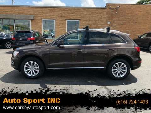 2014 Audi Q5 for sale at Auto Sport INC in Grand Rapids MI