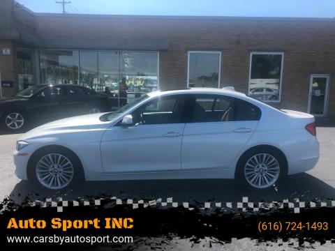 2014 BMW 3 Series for sale at Auto Sport INC in Grand Rapids MI