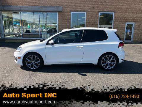2013 Volkswagen GTI for sale at Auto Sport INC in Grand Rapids MI