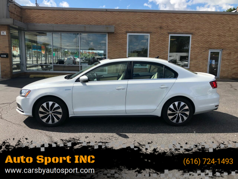 2016 Volkswagen Jetta for sale at Auto Sport INC in Grand Rapids MI