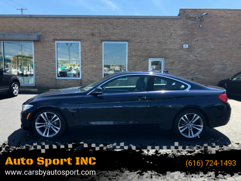 2016 BMW 4 Series for sale at Auto Sport INC in Grand Rapids MI