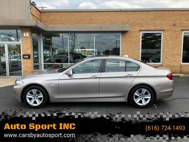 2012 BMW 5 Series for sale at Auto Sport INC in Grand Rapids MI