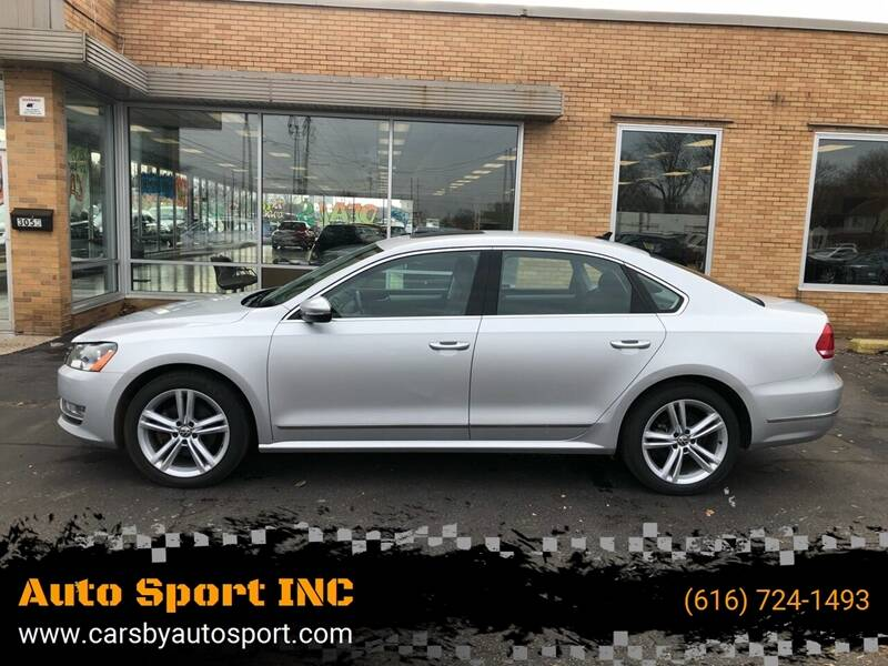 2012 Volkswagen Passat for sale at Auto Sport INC in Grand Rapids MI