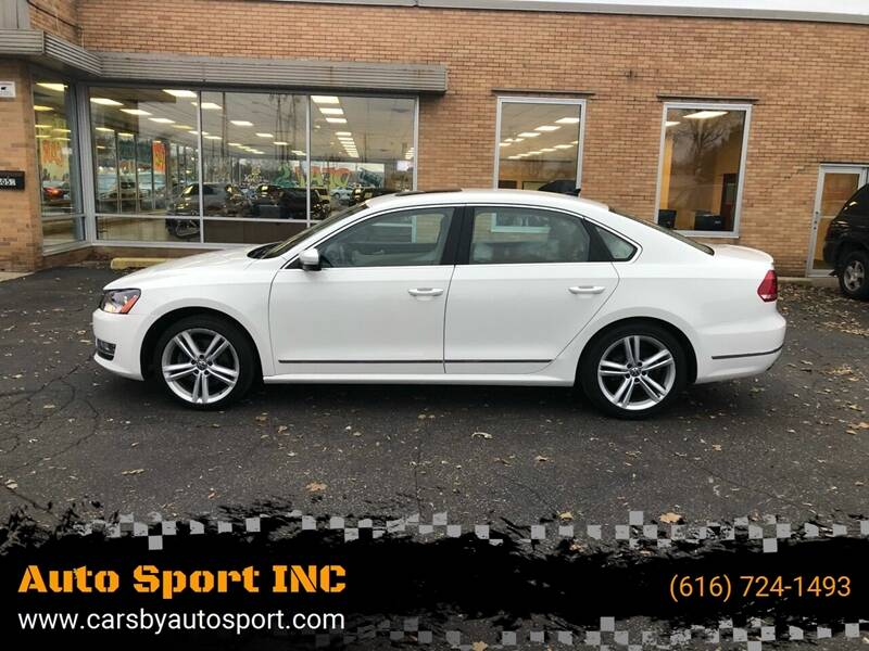 2014 Volkswagen Passat for sale at Auto Sport INC in Grand Rapids MI