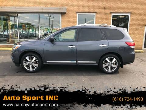 2013 Nissan Pathfinder for sale at Auto Sport INC in Grand Rapids MI