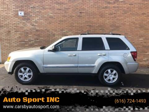 2010 Jeep Grand Cherokee for sale at Auto Sport INC in Grand Rapids MI