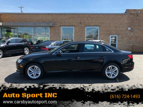 2017 Audi A4 for sale at Auto Sport INC in Grand Rapids MI