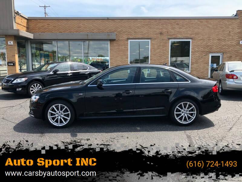 2016 Audi A4 for sale at Auto Sport INC in Grand Rapids MI