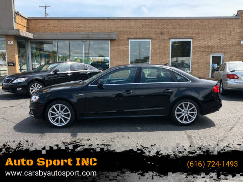 2016 Audi A4 for sale at Auto Sport INC in Grand Rapids MI