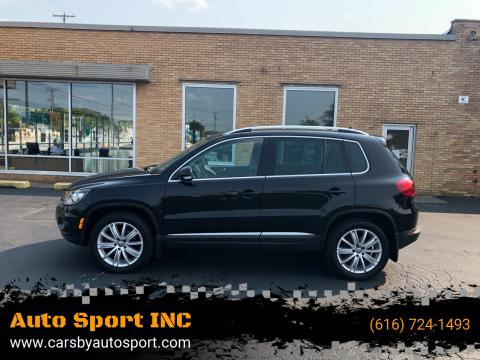 2016 Volkswagen Tiguan for sale at Auto Sport INC in Grand Rapids MI