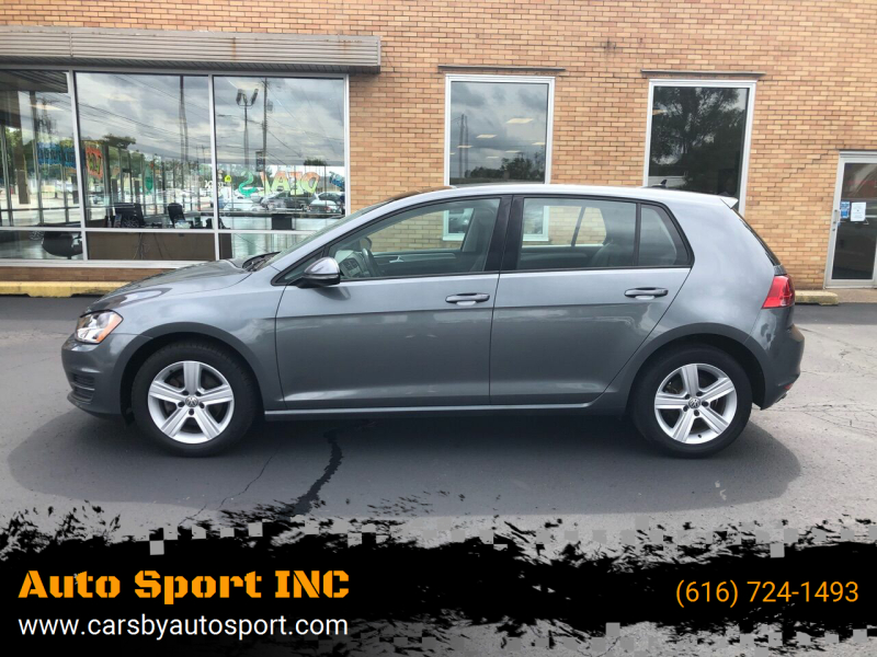 2017 Volkswagen Golf for sale at Auto Sport INC in Grand Rapids MI