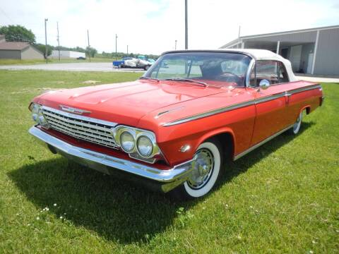 1962 Chevrolet Impala for sale at Custom Rods and Muscle in Celina OH