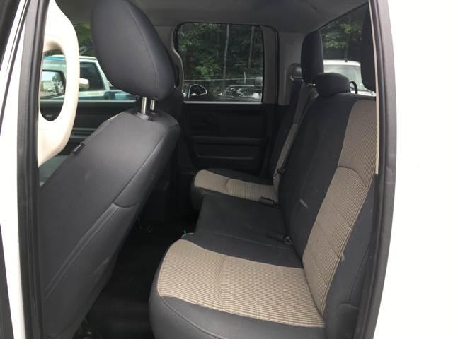 2012 RAM Ram Pickup 1500 4x4 Tradesman 4dr Quad Cab 6.3 ft. SB Pickup - Acworth GA