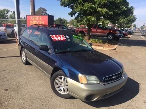 2003 Subaru Outback for sale in Orangevale, CA