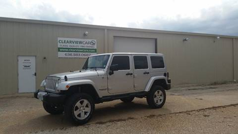 2012 Jeep Wrangler Unlimited for sale in Union, MO