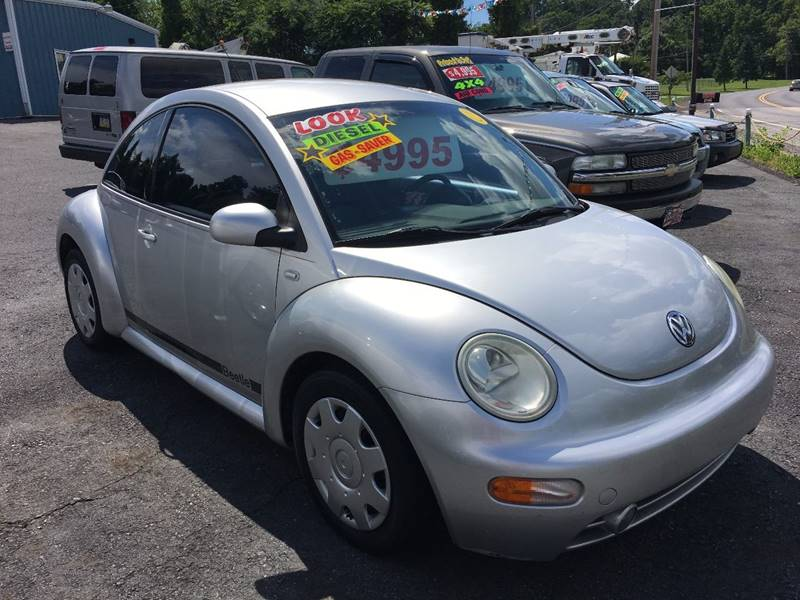 2001 Volkswagen New Beetle GLS TDI 2dr Coupe - Etters PA