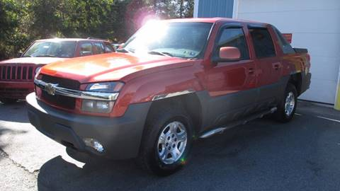 2003 Chevrolet Avalanche for sale in Etters, PA