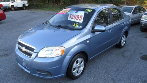 2007 Chevrolet Aveo for sale in Etters, PA