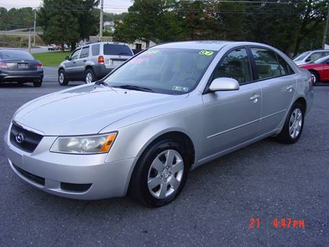 2007 Hyundai Sonata for sale in Etters, PA