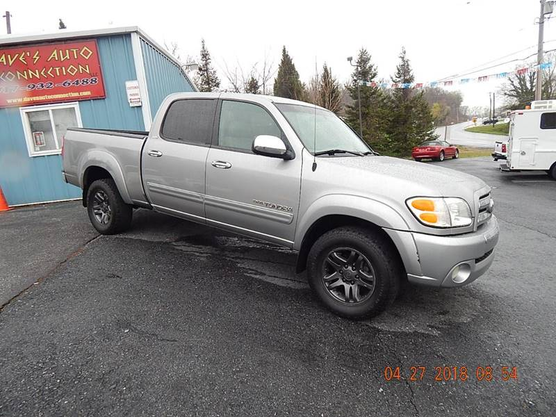 2004 Toyota Tundra 4 Dr SR5 V8 4WD Crew Cab SB Used Cars in Etters, PA 17319