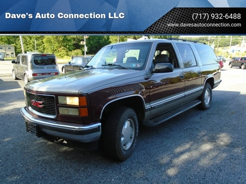 1999 GMC Suburban for sale in Etters, PA
