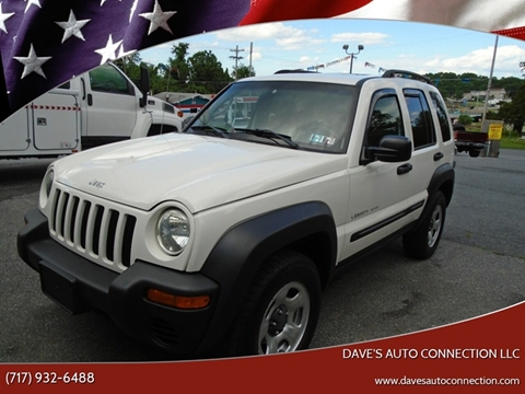 2003 Jeep Liberty for sale in Etters, PA