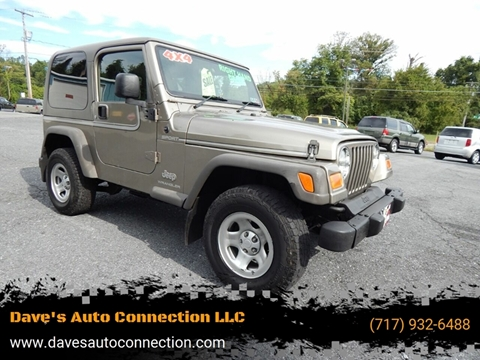2006 Jeep Wrangler for sale in Etters, PA