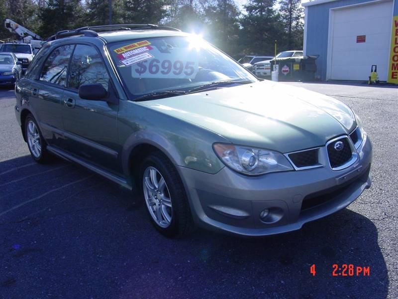 2006 subaru impreza awd outback sport special edition 4dr wagon 2 5l h4 4a in etters pa dave. Black Bedroom Furniture Sets. Home Design Ideas