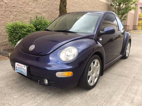2002 Volkswagen New Beetle for sale in Tacoma, WA