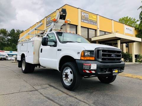 2000 Ford F-450 Super Duty for sale in Kent, WA