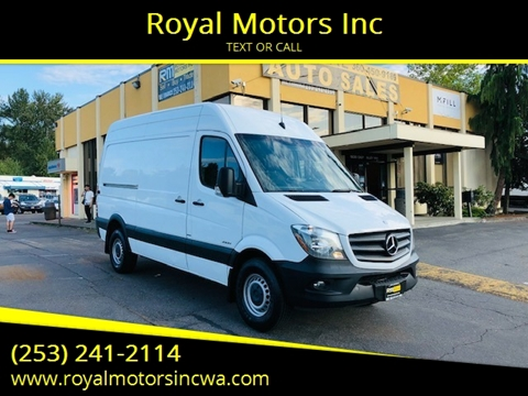 2015 Mercedes-Benz Sprinter Cargo for sale in Kent, WA