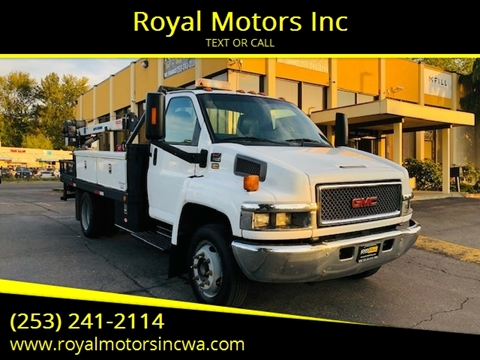 2006 GMC C5500 for sale in Kent, WA