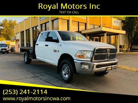 2011 RAM Ram Pickup 3500 for sale at Royal Motors Inc in Kent WA