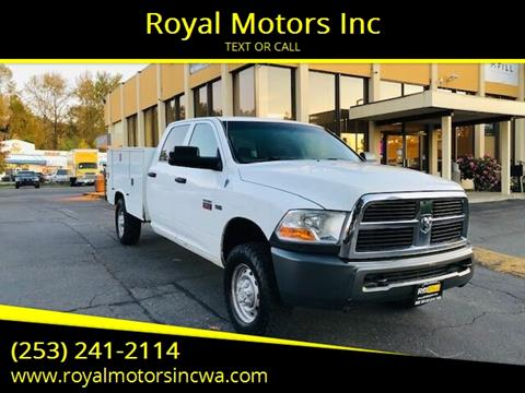 2010 Dodge Ram Chassis 2500 for sale at Royal Motors Inc in Kent WA