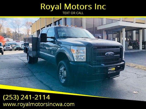 2011 Ford F-350 Super Duty for sale in Kent, WA