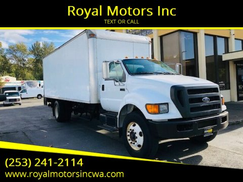 2005 Ford F-750 Super Duty for sale at Royal Motors Inc in Kent WA