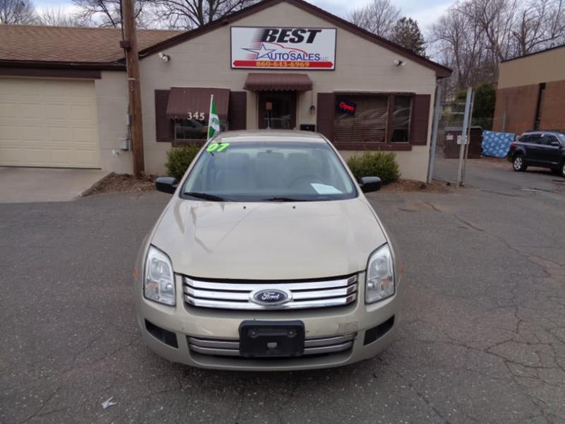 2007 ford fusion oil type