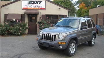 2003 Jeep Liberty for sale in Manchester, CT