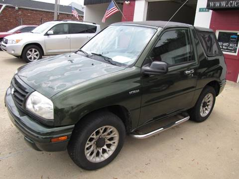 2001 Suzuki Vitara for sale in Cicero, IN