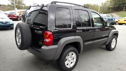 2002 Jeep Liberty for sale in Johnson City, TN