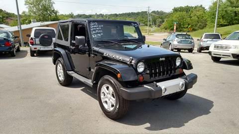 2012 Jeep Wrangler for sale in Johnson City, TN