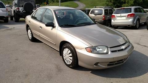 2003 Chevrolet Cavalier for sale in Johnson City, TN