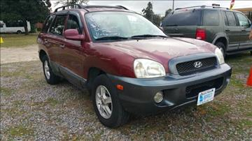 2001 Hyundai Santa Fe for sale at Augusta Motors in Augusta GA