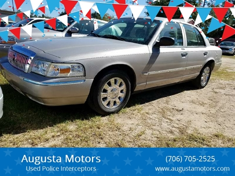 2006 Mercury Grand Marquis for sale at Augusta Motors in Augusta GA