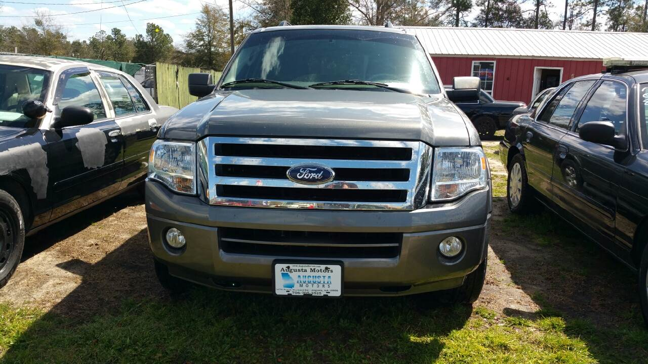 2010 ford expedition 4x4 xlt 4dr suv in augusta ga augusta motors. Black Bedroom Furniture Sets. Home Design Ideas