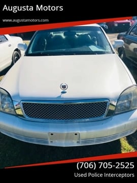 2003 Cadillac DeVille for sale at Augusta Motors in Augusta GA