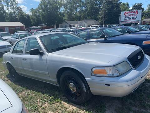 2009 Ford Crown Victoria for sale at Augusta Motors in Augusta GA