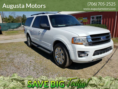 2015 Ford Expedition EL for sale at Augusta Motors in Augusta GA